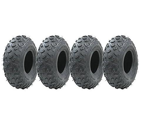 Vier - 19x7-8 Quad Reifen, 19 7.00-8 ATV E markierte Straße legale Reifen 19x7-8 Reifen fahren auf Rasenmäher