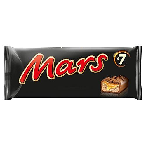 Mars Chocolate Bar, 7 x 39.4 g