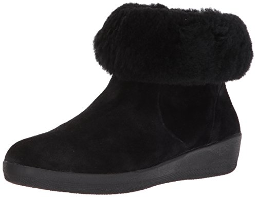 Fitflop Womens J73 Closed Toe Ankle Cold Weather Boots