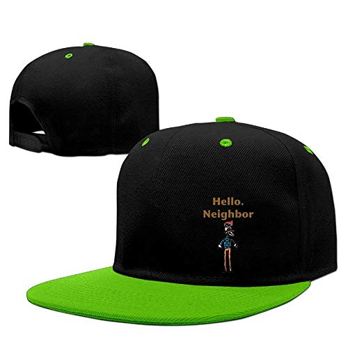 Preisvergleich Produktbild VYPHN Men&Women Hello Neighbor Mountaineering Sanpback Cap Hat Adjustable
