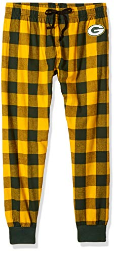 FOCO Green Bay Packers Flanell Jogger Hose-Herren M
