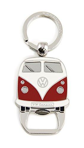 Brisa VW Collection VW T1 Bulli Bus Schlüsselanhänger/Flaschenöffner - Rot