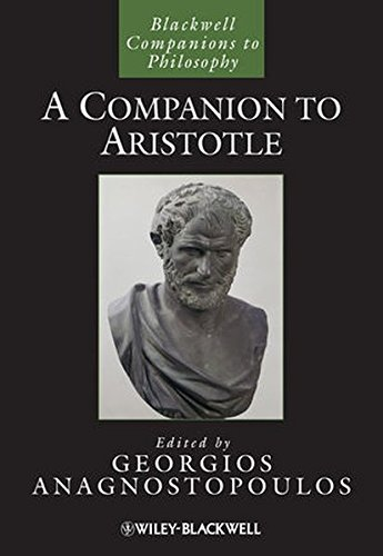 A Companion to Aristotle (Blackwell Companions to Philosophy)