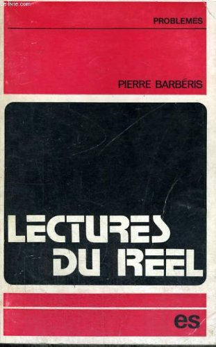 Lectures du reel - collection problmes n8