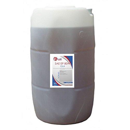 DLLUB - HUILE BOITE SAE 80W GL4 EP 80W - 30 litres