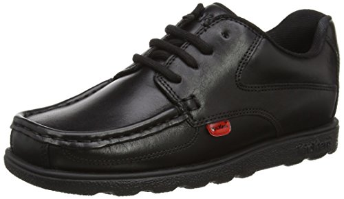 Kickers Boys' Fragma 15 Derbys, Black (Black), 6 UK 39 EU