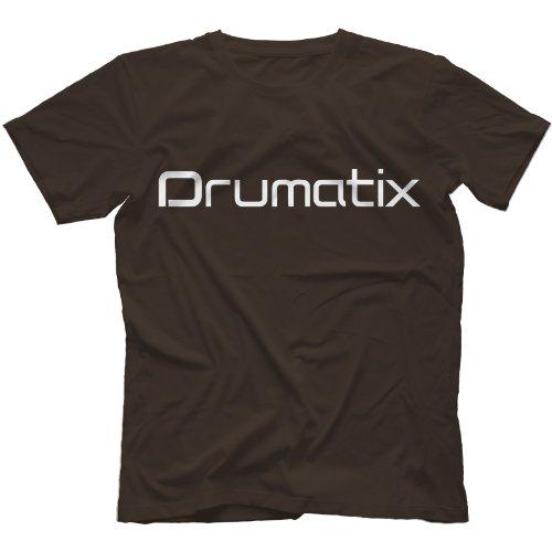 Drumatix T-Shirt Zartbitter-Schokolade
