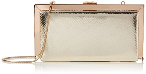 Carvela Damen Georgia Clutch, (Gold), 5x12x23 cm