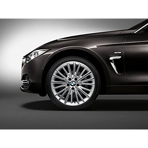 Classic y los músculos de los coches y arte de coche BMW 4-Series (F36) Gran cupé bestdeal línea (2014) coche Póster en 10 mil Archival papel satinado negro iMarkCase/4 1 Panel de vista vapuleo, papel, Black Front 1/4 Panel Closeup Studio View, 20