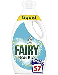 Fairy Non Bio Washing Liquid for Sensitive Skin, 1.995 Litre 57 Washes