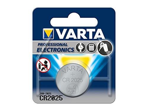 Varta Lithium Knopfzelle 'Professional Electronics', CR2025