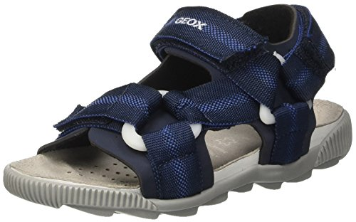 Geox Jungen JR Sandal Storm B, Blau (NAVYC4002), 34 EU