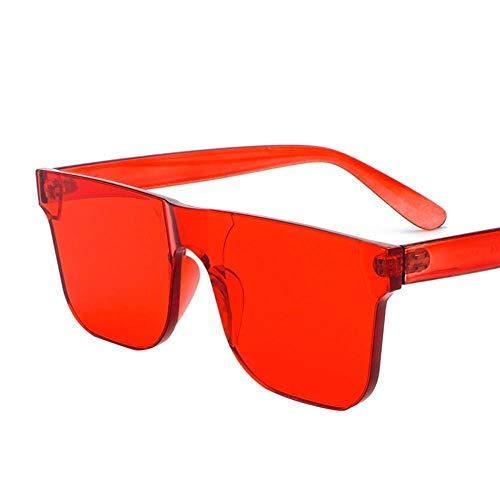 Mon5f Home Herren Sonnenbrillen Frauen Ozean Film Sonnenbrillen weibliche Trend Sonnenbrillen Einteilige Süßigkeiten Farbe Brille Korea Mode Sonnenbrillen - Sonnenbrillen Korea Männer