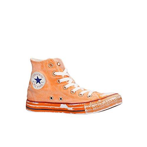 Converse Unisex Adulti All Star Hi Hightop Sneaker Arancione