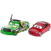 Disney Pixar Cars 3 - Natalie Certain and Chick Hicks with Headset