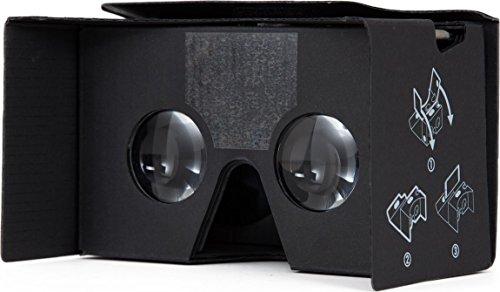 case-mate Google Cardboard Brille V2.0 (2016) mit verbesserten 37mm Bikonvexe Linsen und kapazitivem...
