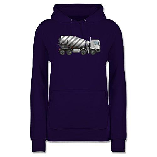andere-fahrzeuge-betonmischer-fahrmischer-xxl-lila-jh001f-damen-premium-kapuzenpullover-hoodie