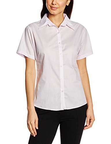 premier-workwear-ladies-short-sleeve-poplin-blouse-femme-lilas-52