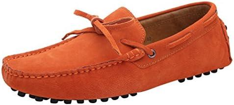 CFP - Botas mocasines hombre, color naranja, talla 41 EU