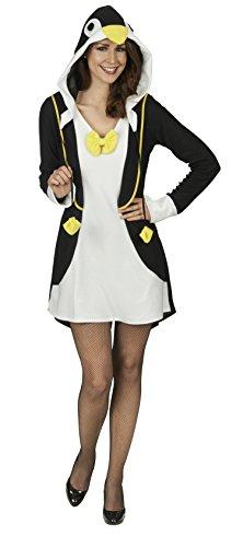 Pinguin Gloria Kostüm für Damen Gr. 40 42 - Süßes Tier Kostüm für Karneval und Mottoparty