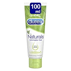 Idea Regalo - Durex Naturals Gel lubrificante intimo, 100 ml