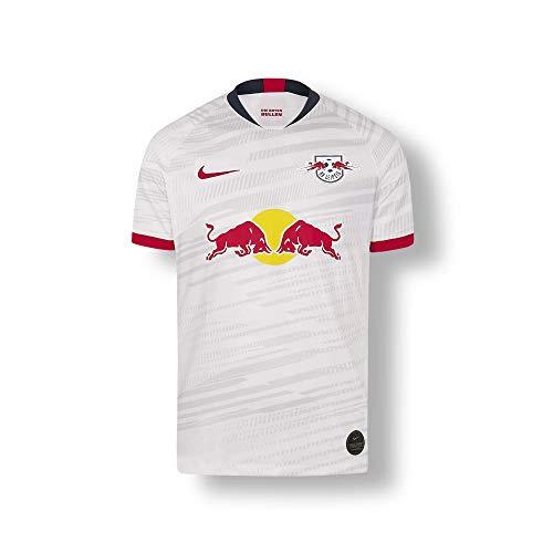 RB Leipzig Home Trikot 19/20, Weiß Youth X-Large T Shirt, RasenBallsport Leipzig Sponsored by Red Bull Original Bekleidung & Merchandise