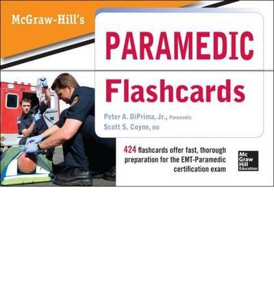 [(McGraw Hill's Paramedic Flashcards)] [Author: Jr. Peter A. DiPrima] published on (August, 2013)