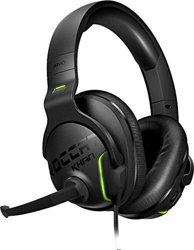 Roccat Khan Aimo - 7.1 High Resolution RGB Gaming Headset Schwarz schwarz Circumaural Gaming-headset