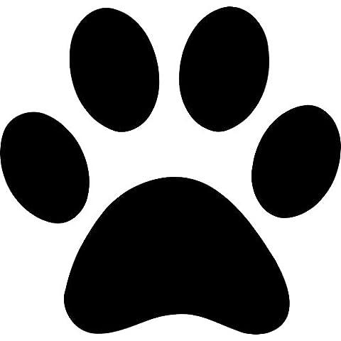 12 x per cani con impronte di zampe, per auto, decalcomania in vinile