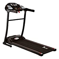 PowerMax Fitness Unisex Adult TDM-97 (3 Hp Peak) 3 Years motor warranty, Light Weight, Foldable Motorized Treadmill For Workout At Home - Black