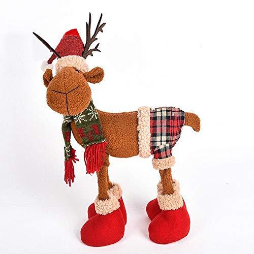 (FLYWS Weihnachten Deer Hörner Elch Weihnachten Kinder Spielzeug Geschenke Schmuck Weihnachtsschmuck)