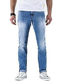 Meltin'Pot - Jeans MANER D0120-UK482 pour homme, style slim, taille normale, taille médias