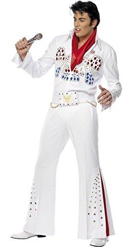 Herren AMERICAN EAGLE ELVIS 1950er 50s Celebrity Star Musiker Rock n Roll Jahrzehnte Fancy Kleid Kostüm Outfit M