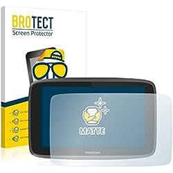 2X BROTECT Matt Film de Protection d'écran Tomtom GO 6200 (Surface Mate, antireflet, revêtement Anti-Traces de Doigts, Application sans Bulles d'air, découpe sur Mesure)
