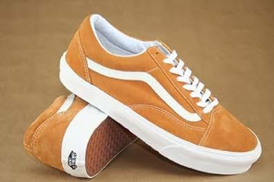 Vans  Old Skool, Baskets mode pour homme Orange  (Vintage) Sudan Brown 41.5 (UK 8)