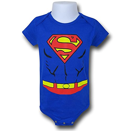 Superman Costume Infant Body 18 mesi