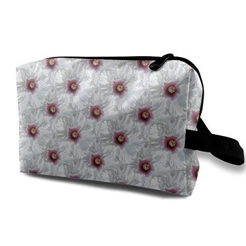 Bloom-ch_3233 Tragbare Reise-Make-upkosmetiktasche-Organisator-Multifunktionsfall-Taschen für Frauen