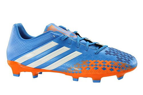 Adidas chaussures de football - Blue/White and Orange