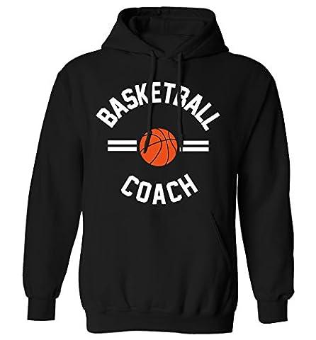 basketball coach hoodie XS - 2XL