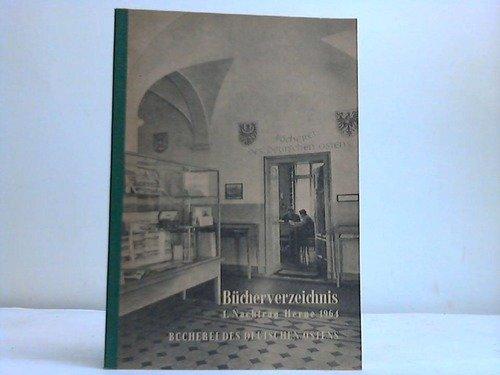 Bücherei des deutschen Ostens Herne