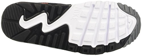 Nike Air Max 90 Ltr Gs, Scarpe da Ginnastica Bambino Grigio (Cool Grey/Black/Max Orange/Whi)