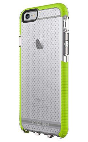 Evo Mesh Sport Hülle für Apple iPhone 6/6s - transparent/grün Clear/Green