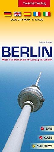 Stadtplan Berlin - COOL CITY MAP - 1:12000 - Mitte, Friedrichshain, Kreuzberg, KreuzKölln