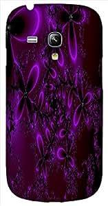 Timpax protective Armor Hard Bumper Back Case Cover. Multicolor printed on 3 Dimensional case with latest & finest graphic design art. Compatible with Samsung S-3Mini - I8190 Galaxy S III mini Design No : TDZ-26037