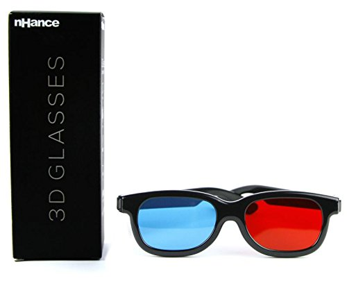 DOMO CM230B nHance for Anaglyph 3D Video Passive Cyan and Magenta Red & Blue 3D Glasses  available at amazon for Rs.159