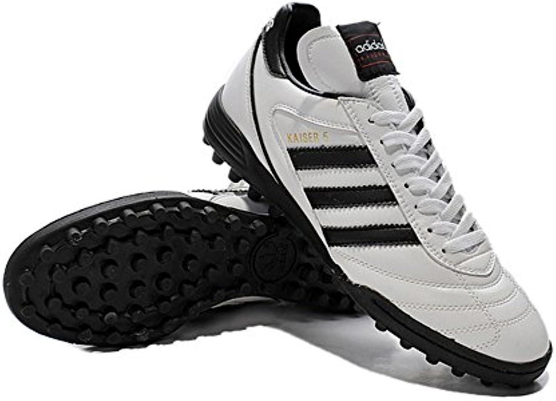 demonry Schuhe Herren Fußball Kaiser 5 TF weissszlig Fußball Stiefel