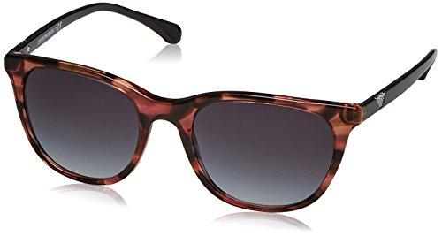 Emporio Armani Unisex-Erwachsene Sonnenbrille Earmani 4086, Rosa (Pink 55538g), 54 Armani Vintage Sonnenbrille