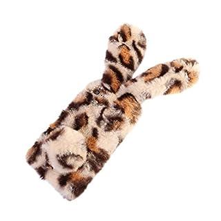 Mode farbige plüsch Kaninchen Telefon case Winter weiche telefonabdeckung Hand erwärmung Schutz Telefon Shell für iPhone 7/8