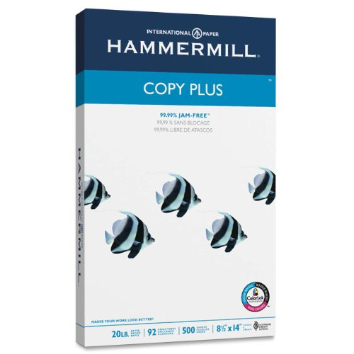 copy-plus-copy-paper-92-brightness-20lb-8-1-2-x-14-white-500-sheets-ream-sold-as-1-ream