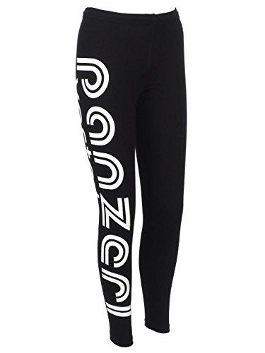 Panzeri–Joy T Nero/blc Leggings–Collant Multisport nero
